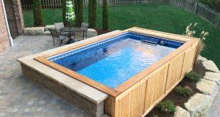 House Tour: Backyard PoolsAbove ground