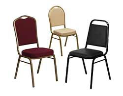 Home Shop Banquet Stack Chairs · All