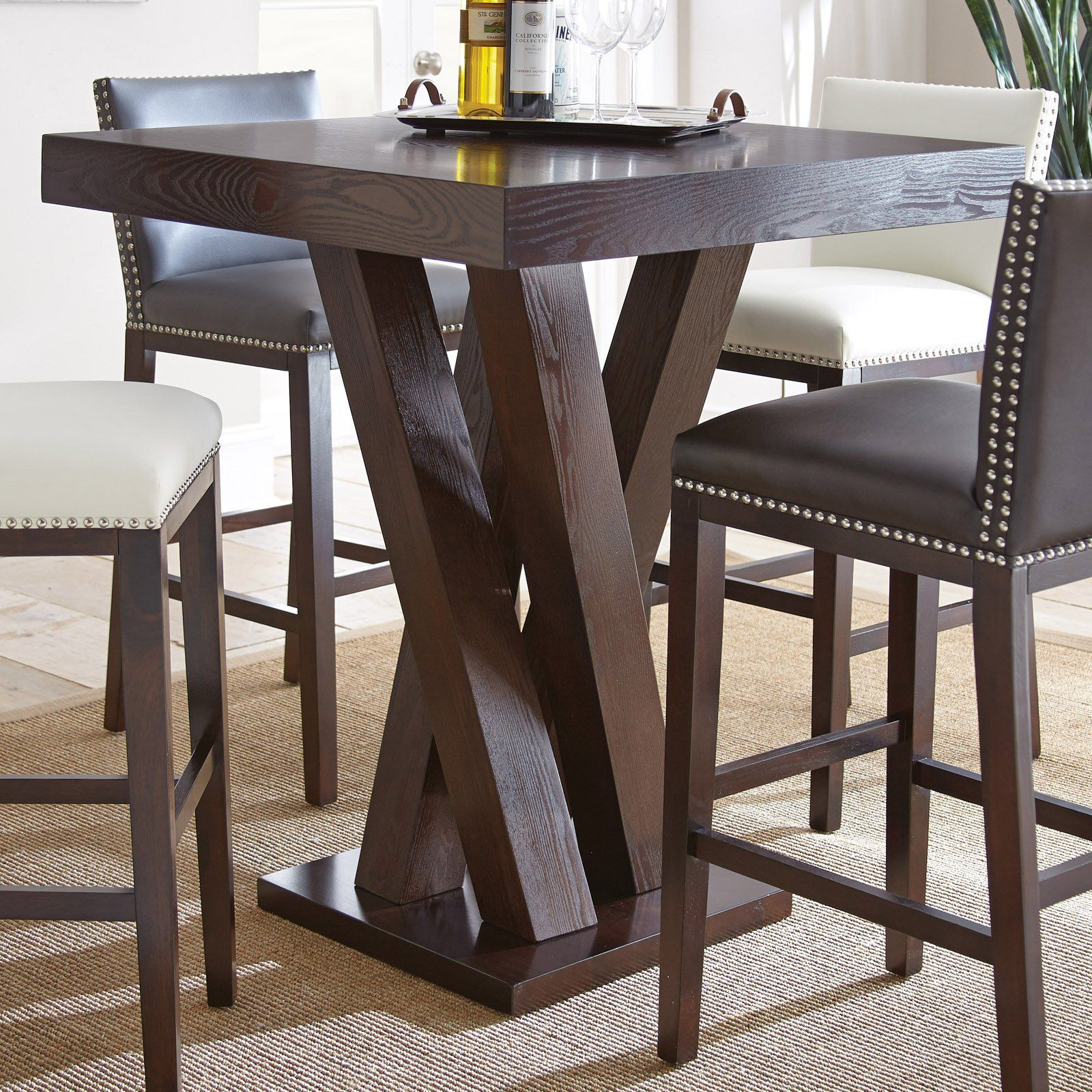 Steve Silver Tiffany Square Bar Height Table | from Traveller Location