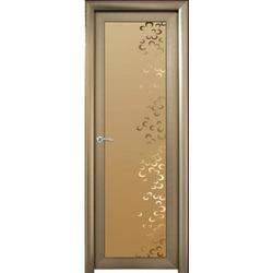 Plastic White Waterproof Bathroom Door