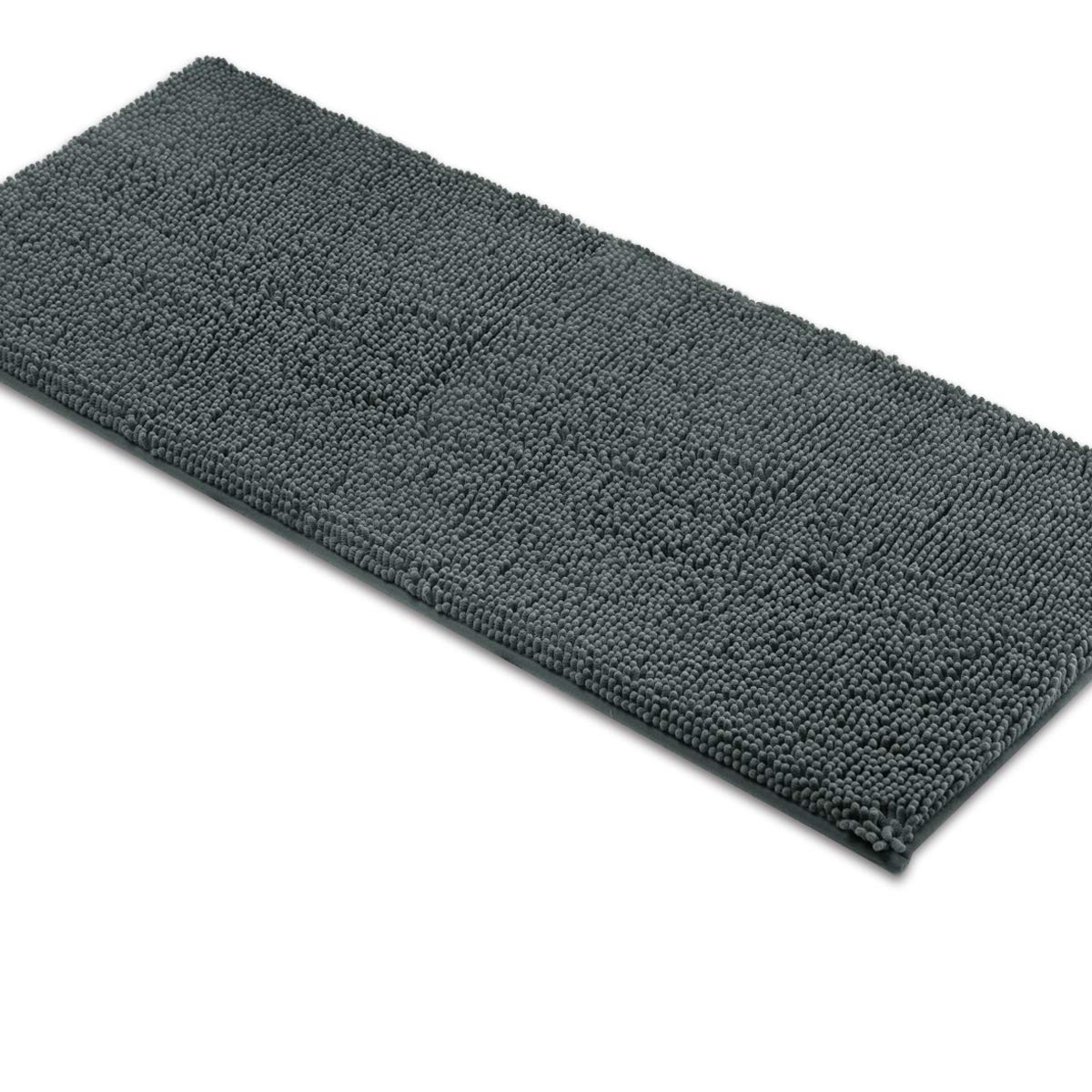MAYSHINE Bath mat Runners for Bathroom Rugs(47X27.5inch) Long Floor mats  Extra Soft Absorbent Thickening Shaggy Microfiber Machine-Washable Perfect  for