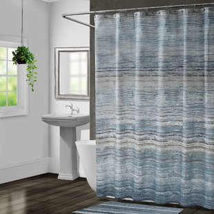 Nomad Single Shower Curtain