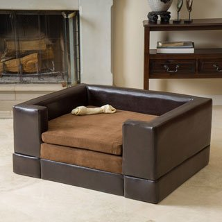 Buy Dog Sofas & Chair Beds Online at Overstock | Our Best Dog Beds &  Blankets Deals