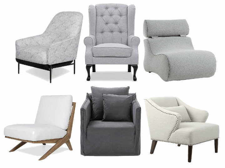 bedroom chair ideas for corner of bedroom grey chairs