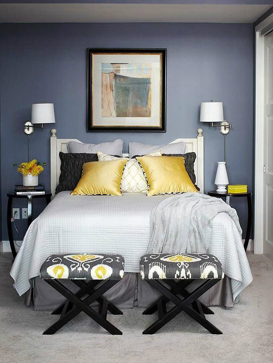 22 Beautiful Bedroom Color Schemes | (1) Unsorted Pins - Interior