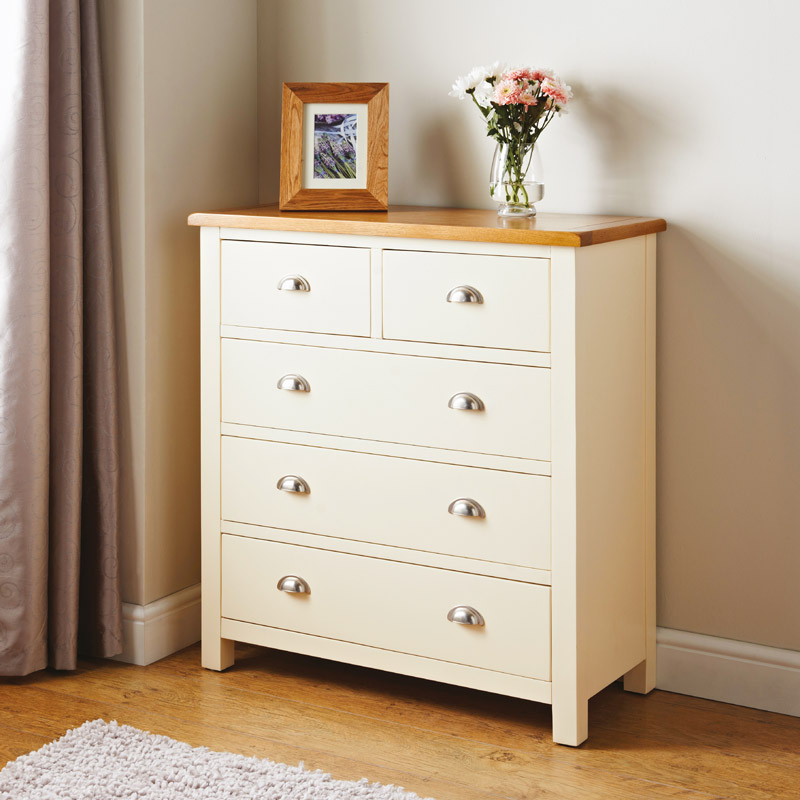 Bedroom Drawers Stores Newsham 5 Drawer Chest Furniture B M
