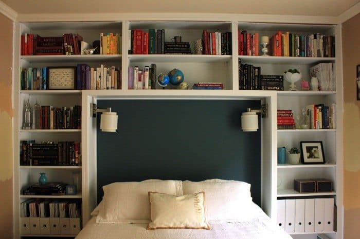Types Of Bedroom Shelves