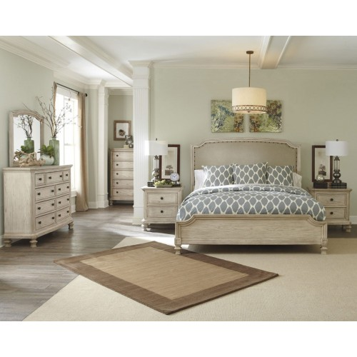 Demarlos 4 Piece Queen Bedroom Suite With Dressing Table & Mirror