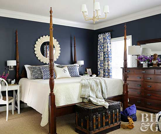 Dark Bedroom Paint Colors
