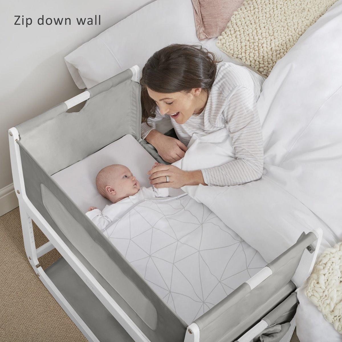 SnuzPod3 Bedside Crib Dusk