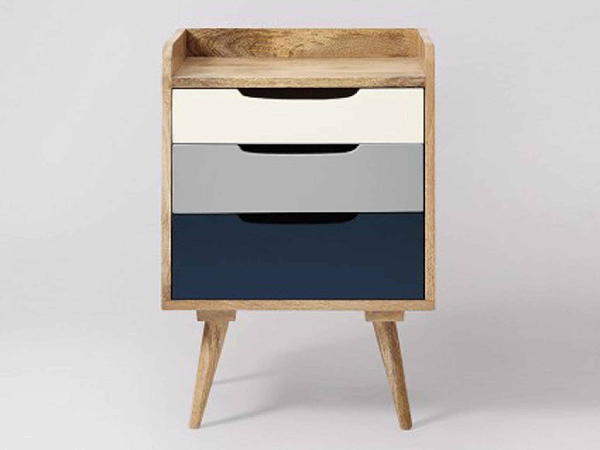 Randall Bedside Table: £169, Traveller Location