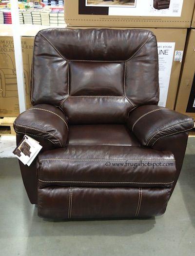 Berkline Tullran Leather Rocker Recliner. #Costco #FrugalHotspot