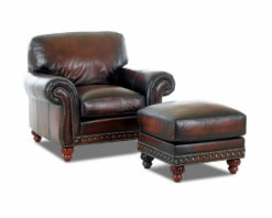 American Made Best Leather Club Chair Comfort Design Rodgers CL7002