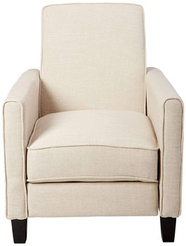 Front View of the Best Selling Davis Recliner Club Chair