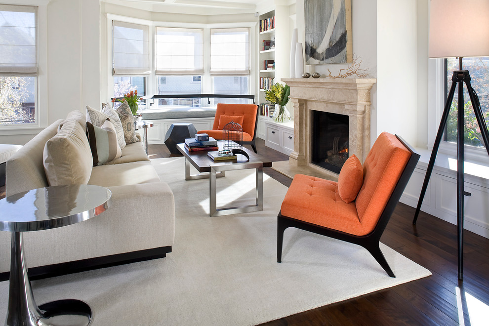 Armless Accent Chairs For Living Room