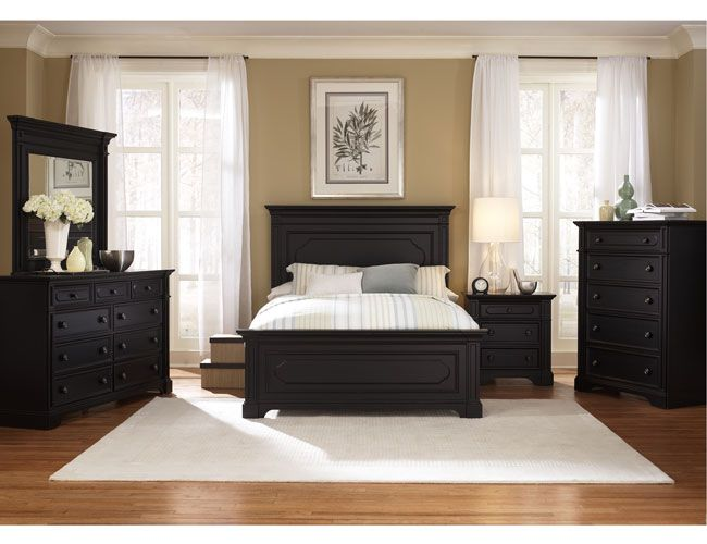 Beautiful and Modern Black Bedroom Furniture Sets Ideas