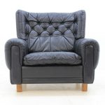 Black Leather Armchairs
