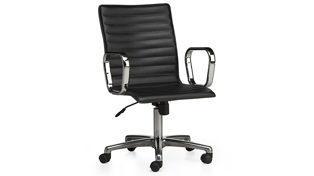 Black Leather Office Chair Storiestrending Com
