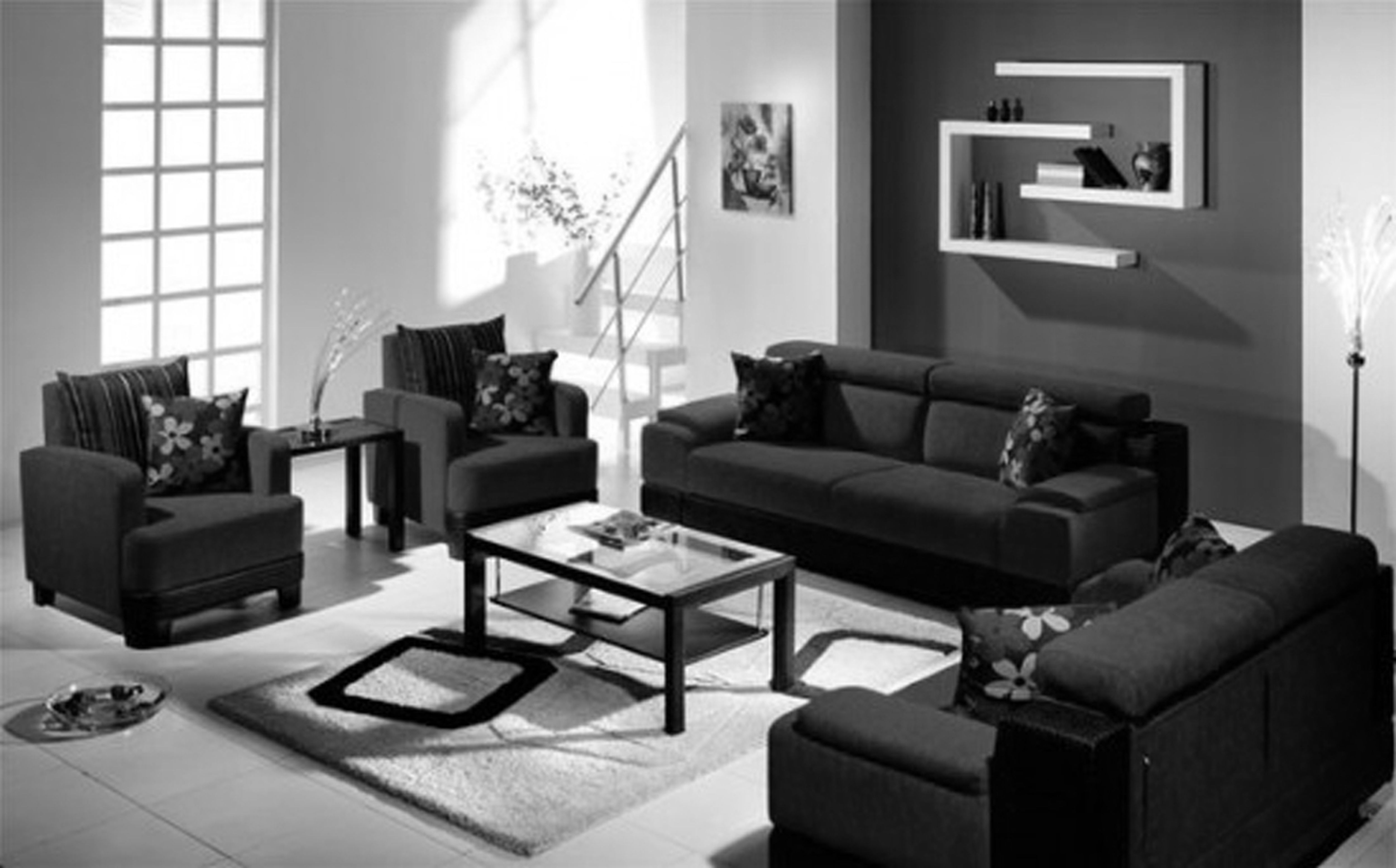 Beautiful Black Living Room Furniture 52 For Your with Black Living Room  Furniture