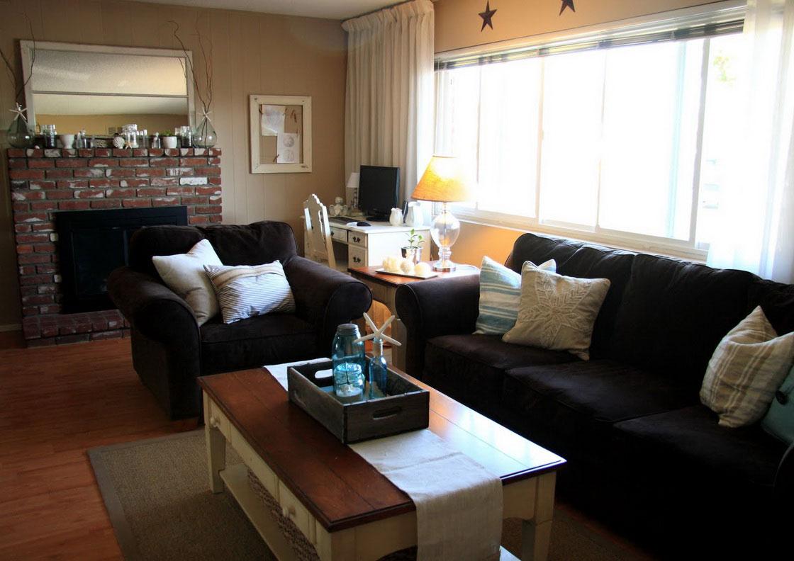 Attractive Black Living Room Furniture