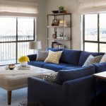 Blue Sectional Couch For Living Rooms