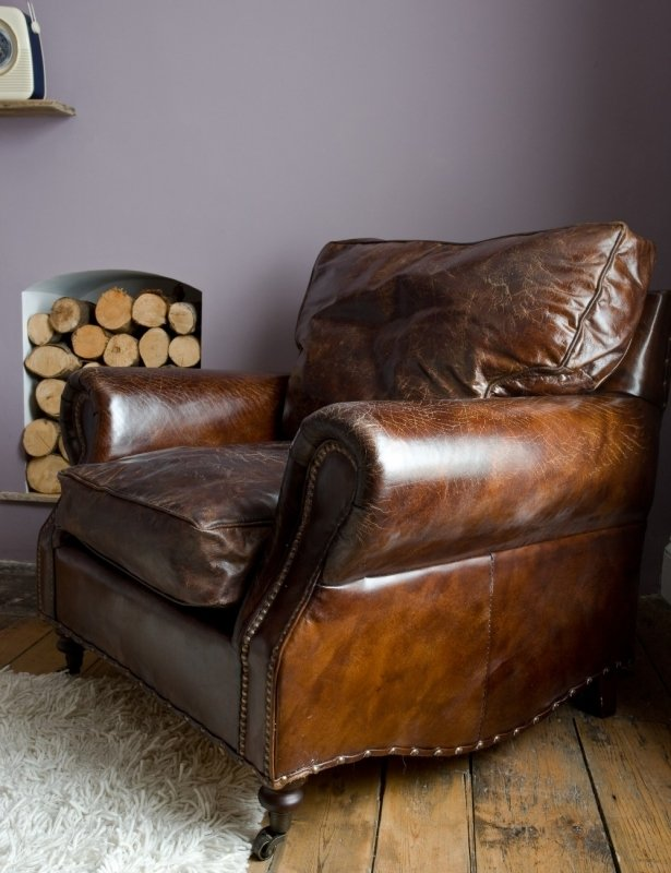 Brown Leather Armchairs - Ideas on Foter