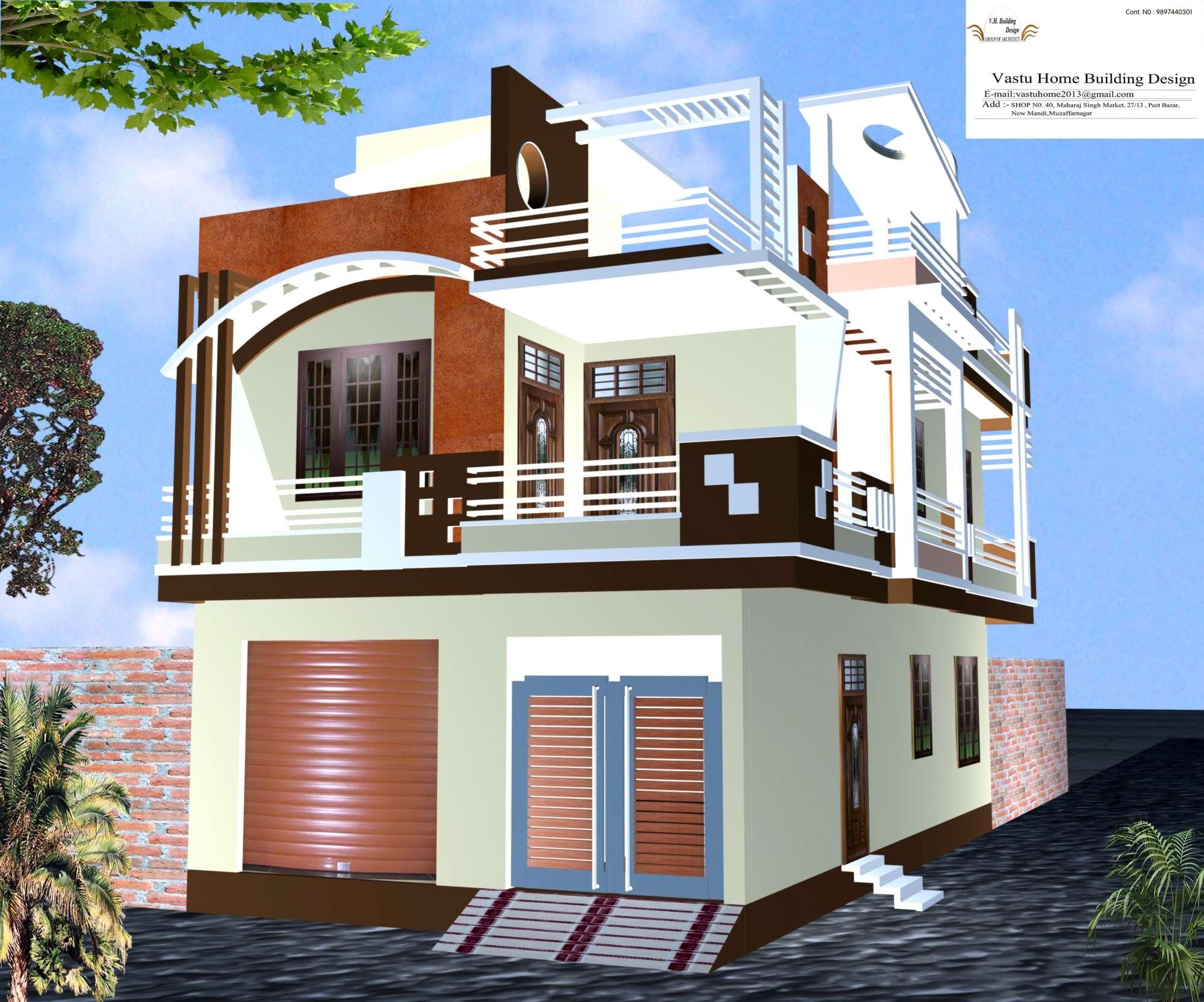 Architect design - Vastu Home Building Design Photos, Muzaffar Nagar  City, Muzaffarnagar - Architects