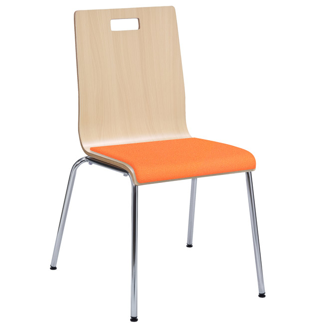 Kfi Seating Jive Multi-Use Padded Chair - 9222 | Restaurant And Cafe