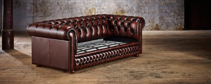 Classic Chesterfield Two Seater Sofa Bed | Timeless Chesterfields With  Regard To Chesterfield Sofa Bed