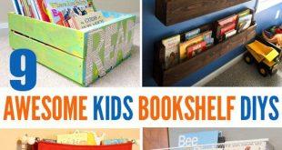 9 Awesome DIY Kids Bookshelves | Organizational Bliss | Bookshelves kids,  Kids room, Diy for kids