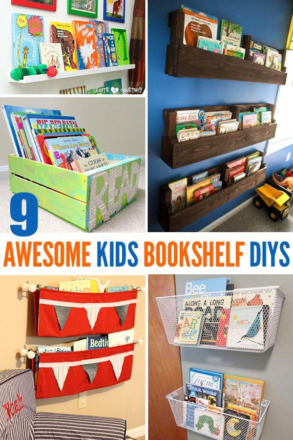 Children Bookcase Ideas