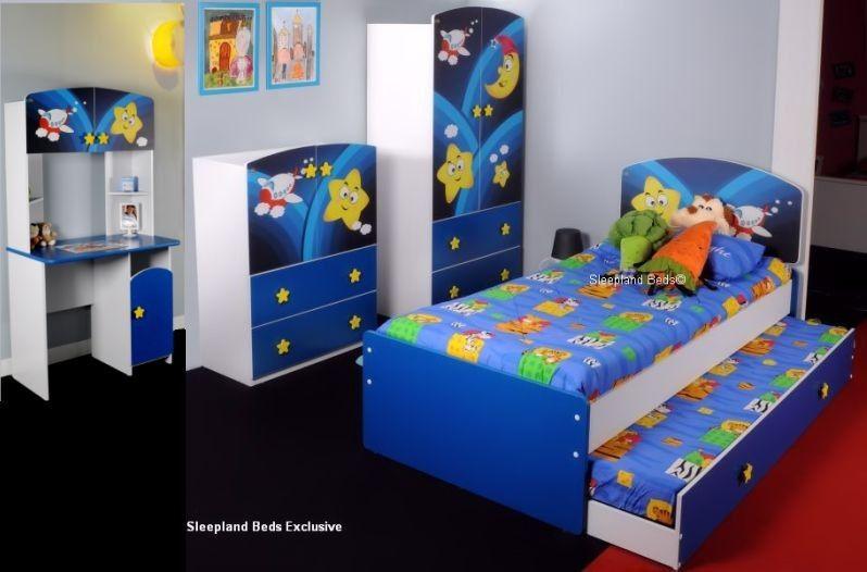 Childrens Bedroom Furniture Set - Super Star Galaxy Guest Bed