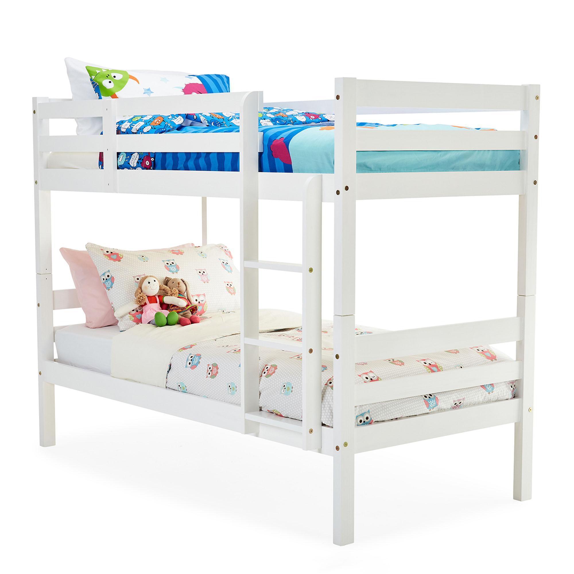 Panama White Bunk Bed