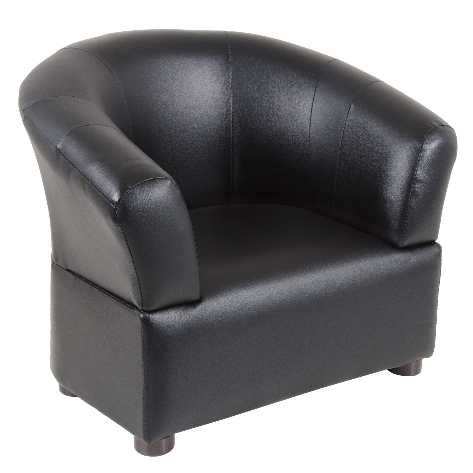 Childrens Leather Armchair
