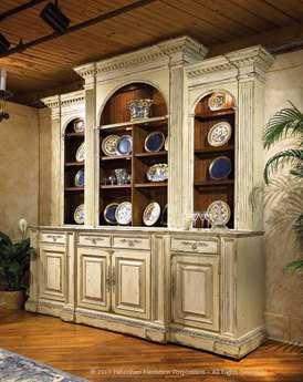 Habersham Biltmore Billiard Room 105'H China Cabinet without Lift