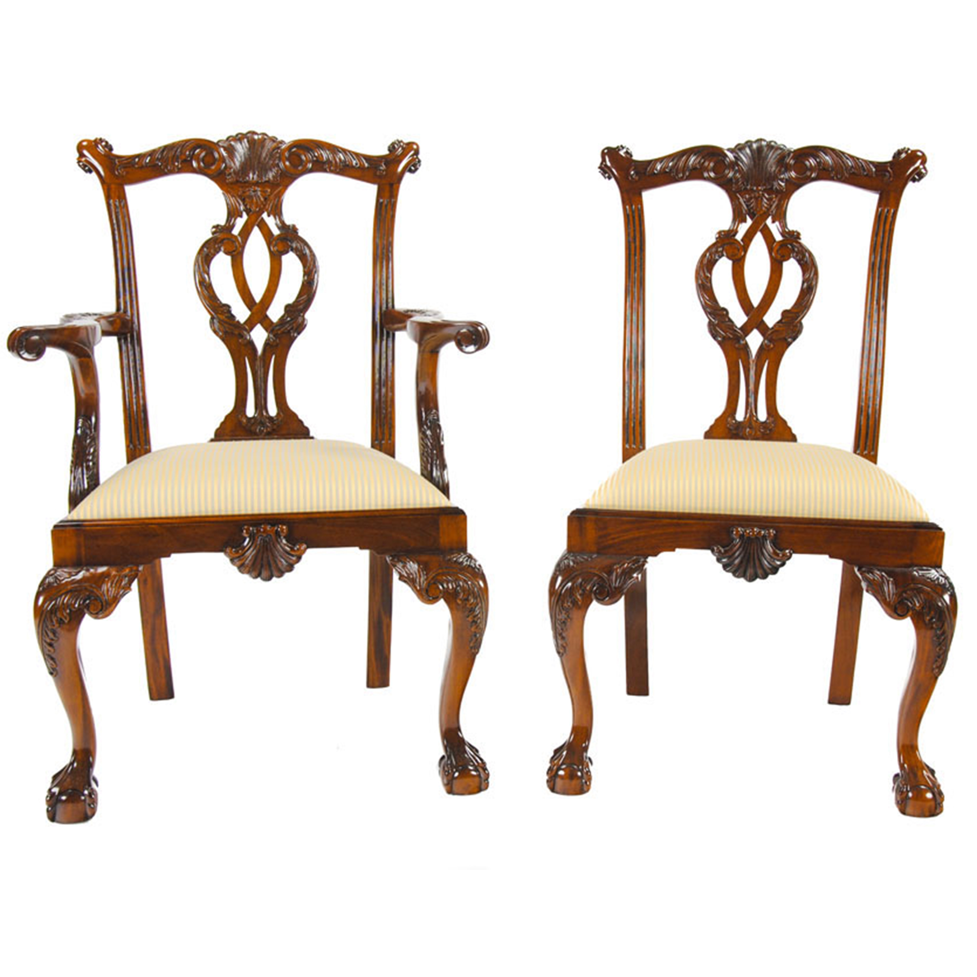 Philadelphia Chippendale Chairs