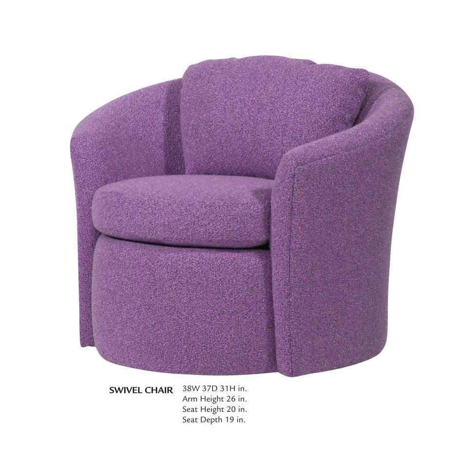 Swivel Chairs For Small Spaces Small Leather Swivel
