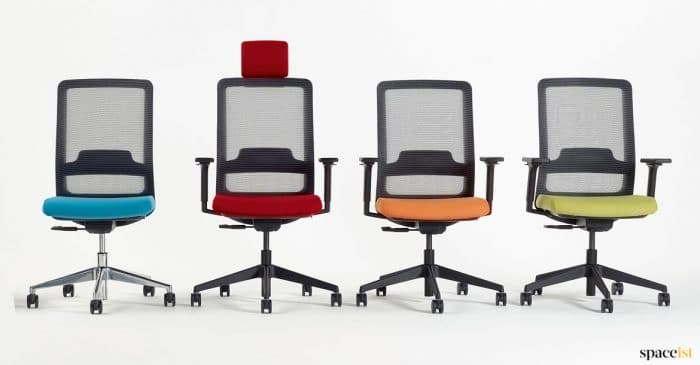 Colourful Office Chairs
