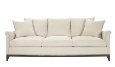 Jules Sofa from the Atelier collection by Hickory Chair Furniture Co. This  is the most comfortable sofa ever! And a great combination of tradition and