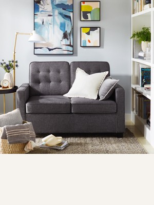 Sleeper sofa. Also known as a pull-out sofa, a sleeper sofa is a functional  way to turn a study into a guest room. Browse sleepers