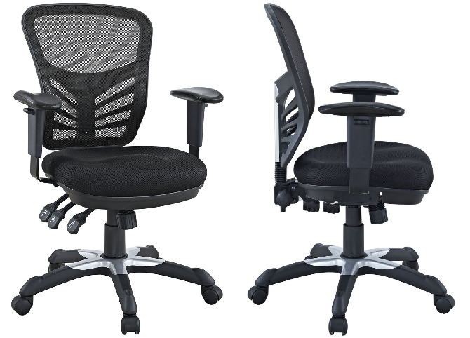The best computer chair for $100 is the Modway Articulate