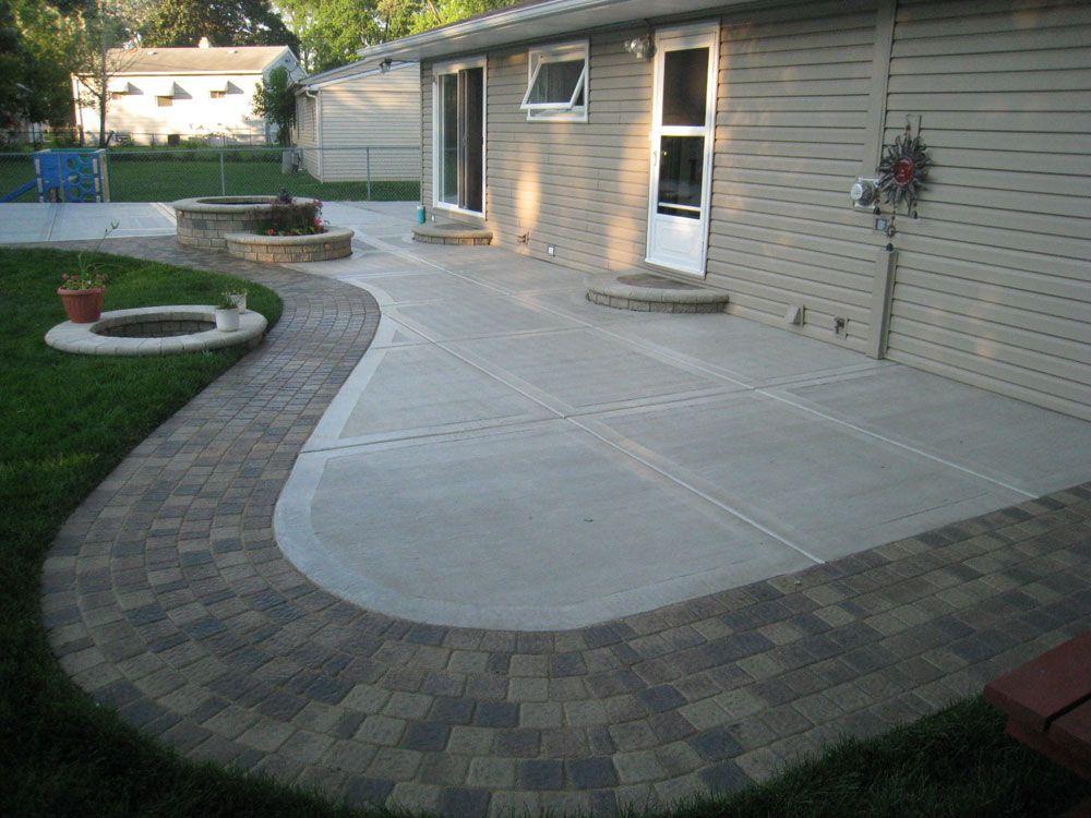 Back Yard Concrete Patio Ideas | Concrete Patio California| Concrete Patio…