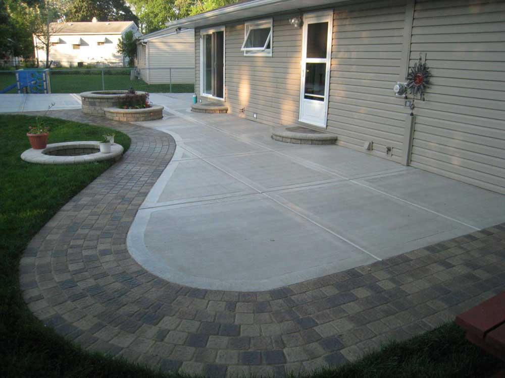 DIY concrete patio - How To POUR A SLAB