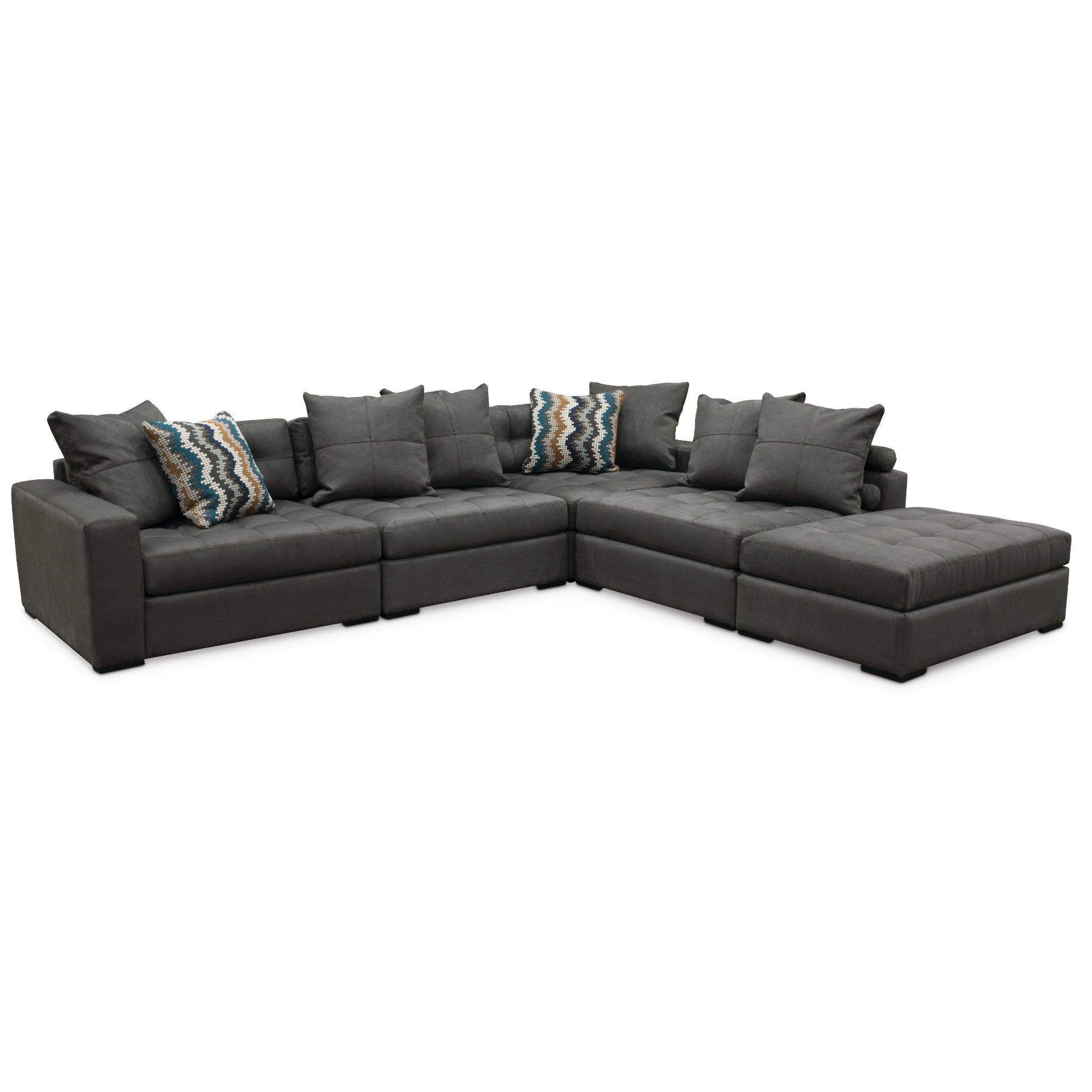 Contemporary 4-Piece Sectional Sofas