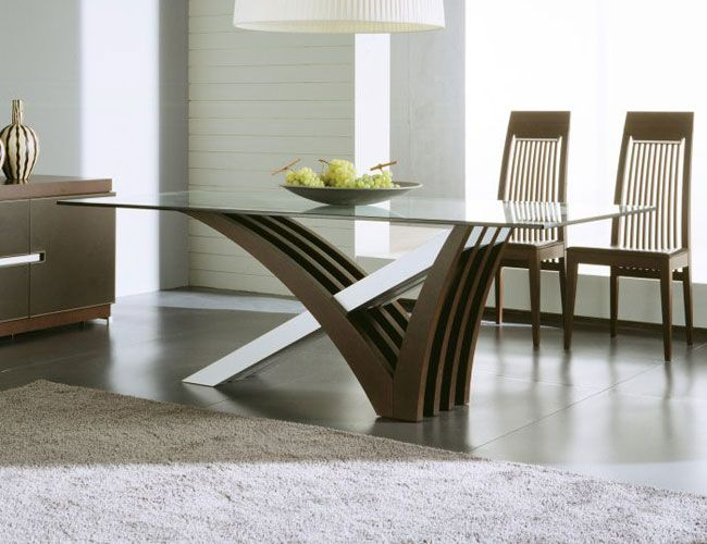 Glass Top Modern Dining Tables For Trendy Homes | Decozilla