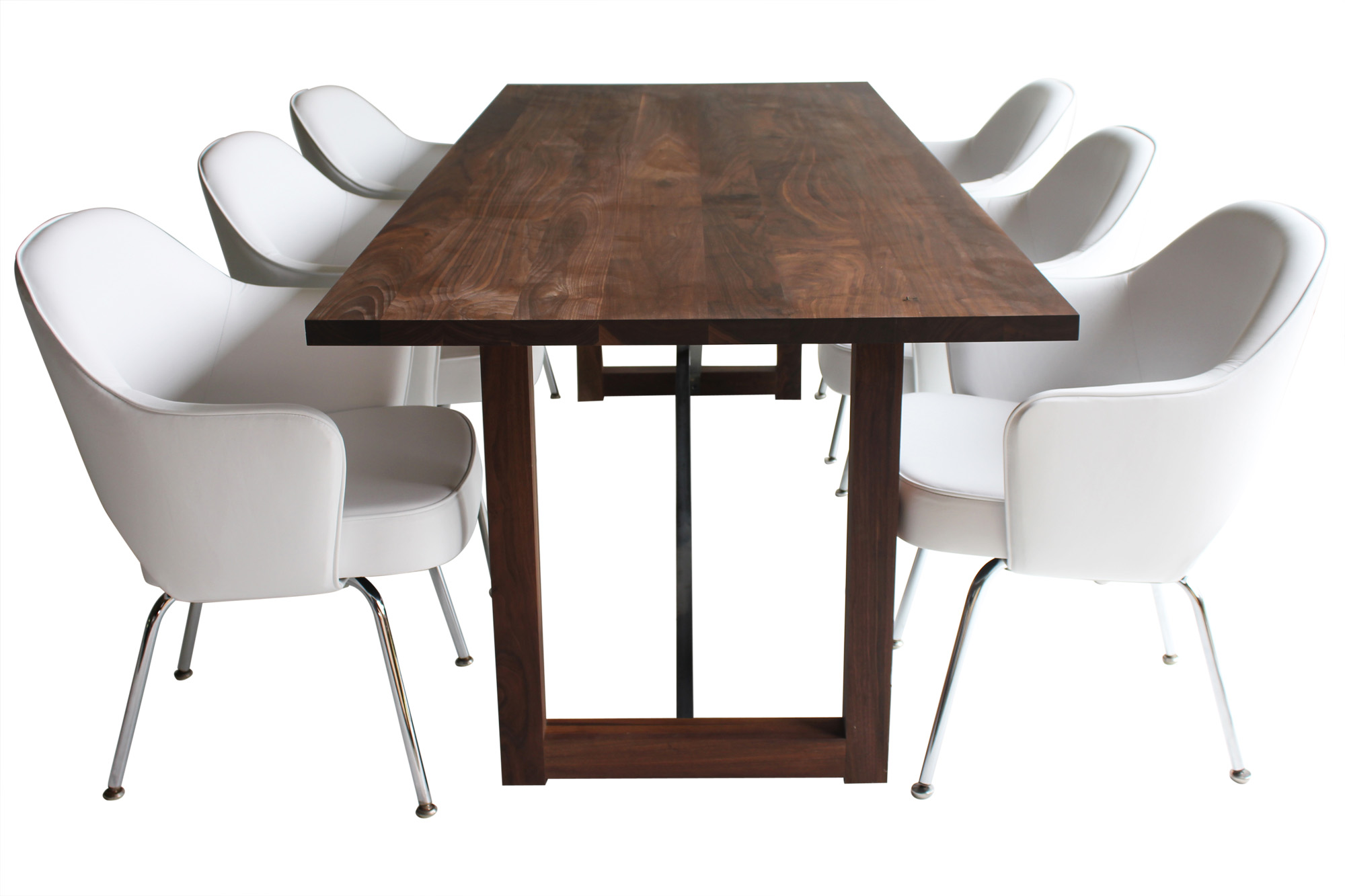 Zoom image Modern Dining Table 0116 Contemporary, Industrial, Transitional,  Rustic Folk, Organic, MidCentury