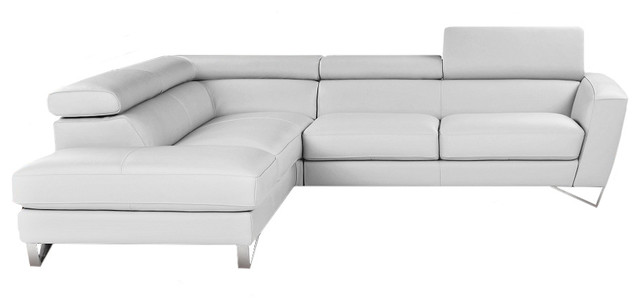 Nicoletti Sparta Italian Leather Sectional Sofa - Modern - Sectional