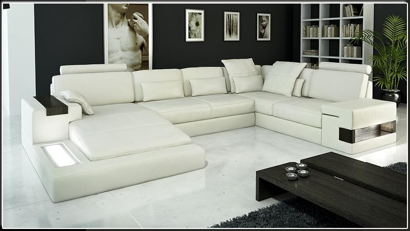 Contemporary Italian Leather Sectional Sofas