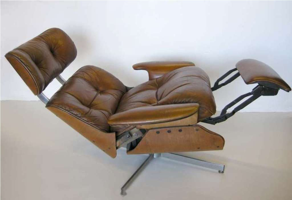 Image of: Smart Contemporary Leather Recliners