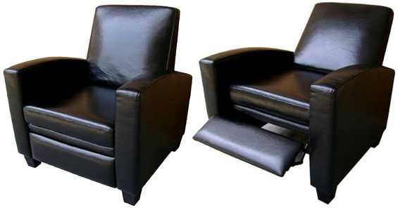 Contemporary Leather Recliner Home And Furniture For Modern Inspirations